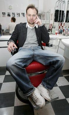 Jason Donovan as Sweeney Todd.