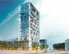 Residential Tower Antwerp C.F. Møller #Box