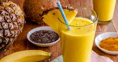 Turmeric has several health benefits. Here is a delicious turmeric smoothie…