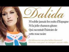 Dalida - Nuits d'Espagne - Paroles (Lyrics)