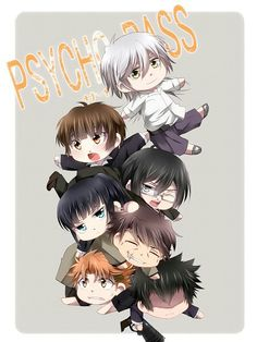 Anime:Psycho-Pass. Image is not mine.