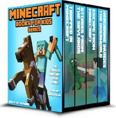 FREE Set of Minecraft eBooks for Kids: The Complete Minecraft Book Series (4 Minecraft Novels for Kids)