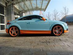 Gulf-colored Audi TT - - Porsche Forum and Luxury Car Resource Audi Tt, Ford Gt, Tt Tuning, Volvo, Peugeot, Volkswagen, Toyota, Travel Design, Mk1