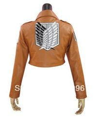 Online Shop Attack on Titan Shingeki no Kyojin Eren Jaeger Leather Jacket Coat Cosplay Costume|Aliexpress Mobile