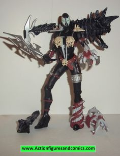 Spawn SHE SPAWN 1995 series 4 black variant repaint complete todd mcfarlane toys action figures
