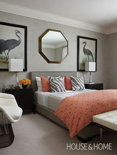 Photo Gallery: Modern Safari | House & Home...exotic touches amp up this color scheme...