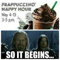 Starbucks barista problems.