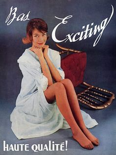 Nylons, Tan Pantyhose, Pantyhose Outfits, Retro Lingerie, Jolie Lingerie, Vintage Stockings, Nylon Stockings, Stockings Lingerie, Pin Up