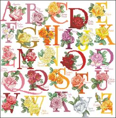 Gallery.ru / Фото #11 - 15 - KIM-3 / różany alfabet 1/5