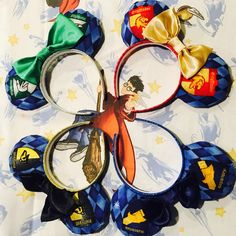 Bippity Boppity Bows & Ears - Harry Potter Inspired Mouse Ears!  #disney #bows #preppy #preppystyle #disneyworld #disneyland #disneyoutfits #mouseears #minnieears #harrypotter #gryffindor #slytherin #sortinghat #housecup #universalstudios #wizard #hogwarts