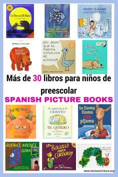 Fantásticos y divertidos libros y/o cuentos infantiles en español. Excelentes recursos para los niños que están aprendiendo español como segundo idioma, para programas de educación bilingüe, dual language o para enriquecer las destrezas de lectura de los niños de nivel preescolar.
