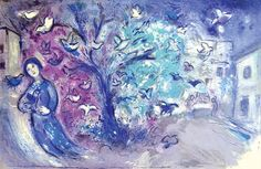 Marc Chagall | The Bird Chase (Daphnis and Chloe Suite) (1961) | Available for Sale | Artsy
