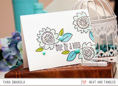 January 2015 Release: Introducing Paper Cut Flowers   Birthday Tag Dies  - Products and inspiration from Neat And Tangled: http://neatandtangled.blogspot.com/