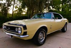 Bid for the chance to own a 1967 Fiat Dino Coupe at auction with Bring a Trailer, the home of the best vintage and classic cars online. Camaro Ss, Chevrolet Camaro, 1967 Camaro, Yellow Camaro, Citroen Traction, Classic Car Restoration, Thing 1, Pony Car, Autos