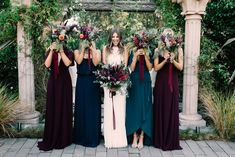 Bridesmaid Dresses, elegantly terrific dress design number 2588264864 - more stunning sets on bridesmaid dress styles and suggestions. wish other super eye popping suggestions? Please pop by the pin link 2588264864 today. Wine Bridesmaid Dresses, Wedding Bridesmaids, Wedding Dresses, Bridal Party Dresses, Chic Wedding, Dream Wedding, Wedding Day, Spring Wedding, Wedding Wishes
