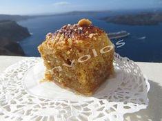 Sweet Copenhagen - The sweet of joy - TasteDriver by Sissy Nika Greek Sweets, Greek Desserts, Greek Recipes, Vegan Desserts, Dessert Recipes, Sweet Corner, Bakery, Deserts, Food And Drink
