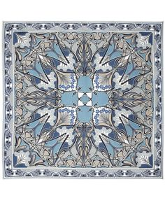 Blue Ianthe Print Silk Scarf, Liberty London. Shop the latest Liberty London Scarves collection at Liberty.co.uk