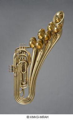 Adolphe Sax . trombone à pistons