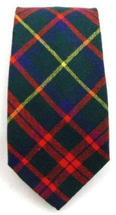 Mackintosh Hunting Modern Tartan Tie: Amazon.co.uk: Clothing
