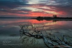 Flames into the lake by yiannischatzipanagiotis. Please Like http://fb.me/go4photos and Follow @go4fotos Thank You. :-)