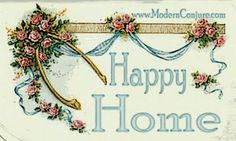 """Modern Conjure banner for """"A Happy Home Spell"""" designed by Chas Bogan"""
