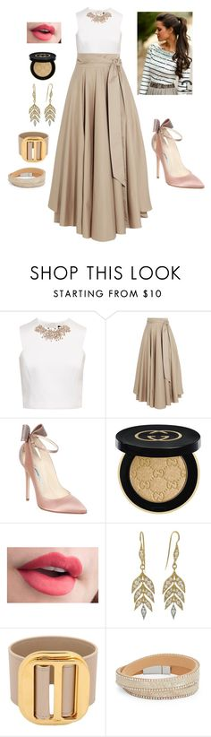 """City chic style"" by tori-holbrook-th ❤ liked on Polyvore featuring Ted Baker, TIBI, Brian Atwood, Gucci, Cathy Waterman, Chloé and Design Lab"