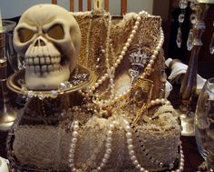 closeup of the treasure chest