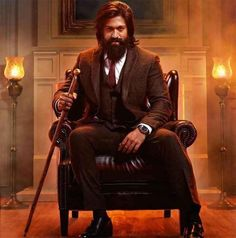 Actor Yash who became Kannada Star hero and then a popular hero in Indian Cinema, with KGF, decided to shed some light on the new looks that released on Film Images, Actors Images, Star Images, Actor Picture, Actor Photo, Beard Styles For Men, Hair And Beard Styles, Hair Styles, Bahubali Movie