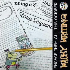 Narrative writing and creative journal prompts that your kids will beg to do! Writing with your students has never before been this fun and engaging!!  Make writing fun!