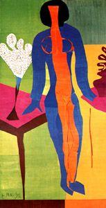 Henri Matisse - Zulma - 1950 Contraste de couleur en soi (selon J. Itten)