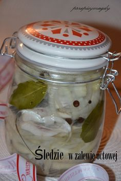 Polish Recipes, Food Humor, Fish Dishes, Bon Appetit, Pickles, Cucumber, Food And Drink, Vegetarian, Meals