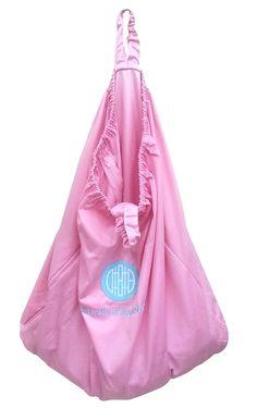 Hanging Diaper Pail Baby Pink, $25