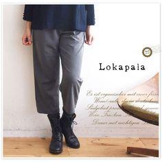 【Lokapala ロカパラ/ローカパーラ】テロパン ワイド クロップド パンツ(lp150825)