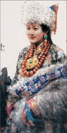 Nan Haiyan (b1962; Dezhou) | Ink on Paper