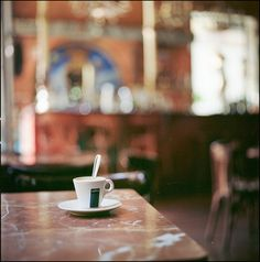I'll be seeing you in that small cafe.