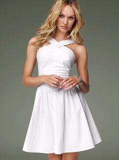 victoria's secret dress $80 i love the neckline would love to recreat it on a refashion
