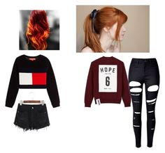 """""""Untitled #2240"""" by aurorazoejadefleurbiancasarah ❤ liked on Polyvore featuring Studio Concrete and WithChic"""