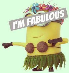 -- Minion 2, Minions Despicable Me, Im Fabulous