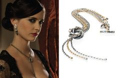 I covet this necklace. This Algerian love knot necklace was worn by Eva Green as Vesper Lynd in 'Casino Royale' in 2006.
