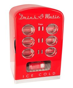 Retro Mini Cooler #zulily #zulilyfinds