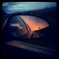 My past sunset
