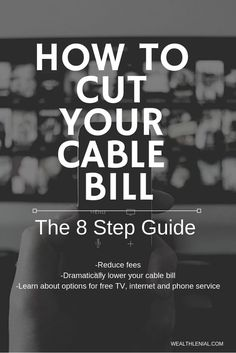 9f0dfdff17c Want to drop your cable bill? Possibly by hundreds? Check out this post  where