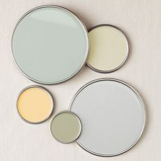 earth-tone-seaside-color-scheme.jpg 360×360 pixels  Green for Bathroom...yellow for dining nook...grey blue for main