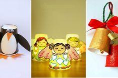 15 bricolages pour enfants à faire avec des gobelets de toutes sortes!