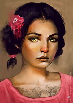 Paintable.cc | 50 Stunning Digital Painting Portraits: David Belliveau #digitalpainting #portrait #inspiration