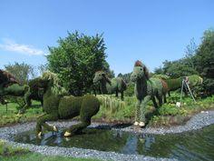 Зеленые скульптуры в Монреале. Обсуждение на LiveInternet - Российский Сервис Онлайн-Дневников