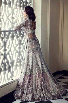 Latest Pakistani & Indian Bridal Lehenga And Bridal Gowns 2017 - PK Vogue Indian Bridal Wear, Pakistani Bridal, Bridal Lehenga, Pakistani Dresses, Indian Dresses, Lengha Saree, Wedding Lenghas, Bridal Anarkali Suits, Bride Indian