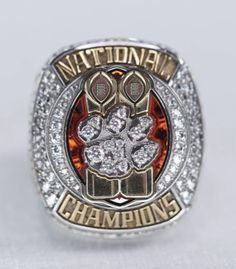 College Football Championship, Cfp National Championship, Championship Rings, Football Program, Cotton Bowl, Clemson Tigers, Engraved Rings