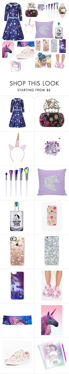 """""""unicorn"""" by kalina-stoycheva ❤ liked on Polyvore featuring Alexander McQueen, The Gypsy Shrine, The Casery, Casetify, Hot Topic, Missguided, Studio Cockatoo and Vans"""