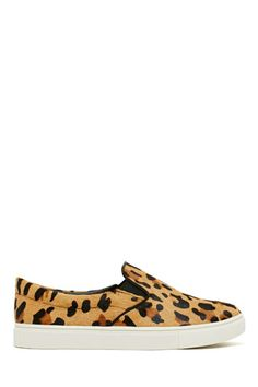 Steve Madden Eccentric Pony Hair Sneaker - Leopard  Lets hope that the pony was already dead :(